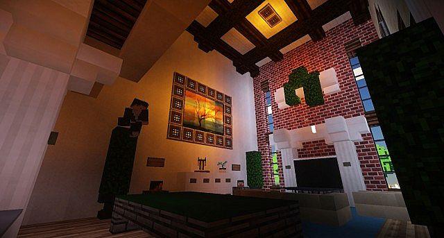 Plantation Mansion Minecraft building history ideas house 7
