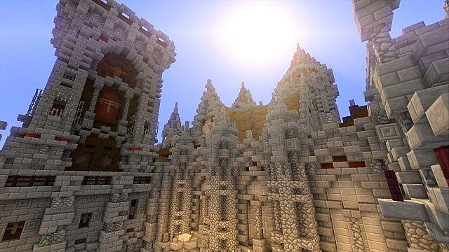 Fargloom Fortress minecraft building ideas moutain midevil lava 9