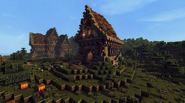 medieval farm minecraft house building ideas 7