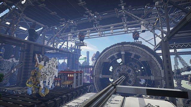 BlockWorks Inc Minecraft building ideas city iron industrial 18