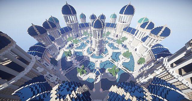 Castellum Romanorum Fantasy Roman spawn hub serer minecraft building ideas 8