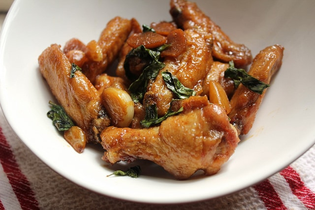San Bei Ji Wings (Three Cup Chicken Wings)