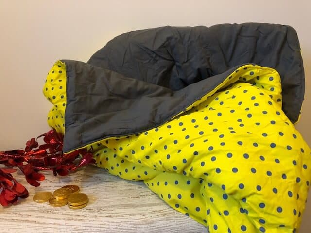 A Secret Pillow is a pillow that unfolds into a comfy blanket - a chic addition to any home and perfect for those tight on space.