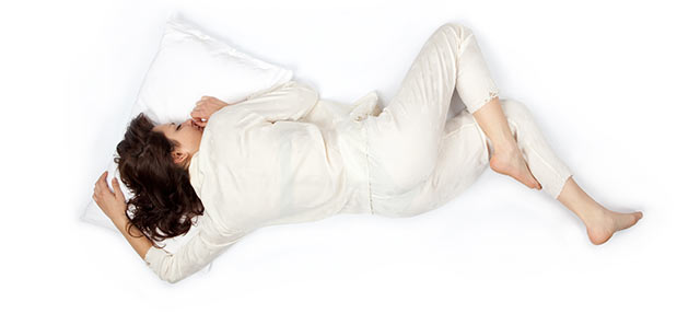 auf dem bauch schlafen