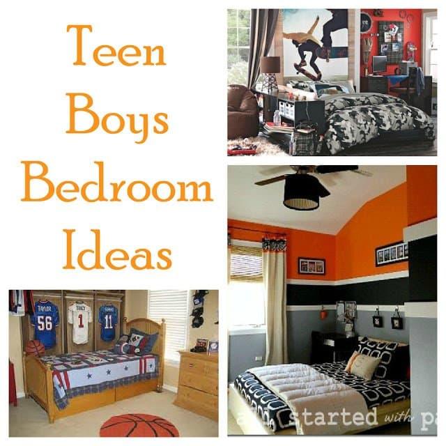 Second Chance to Dream: Teen Boy Bedroom Ideas #teenboyrooms #diyroommakeovers