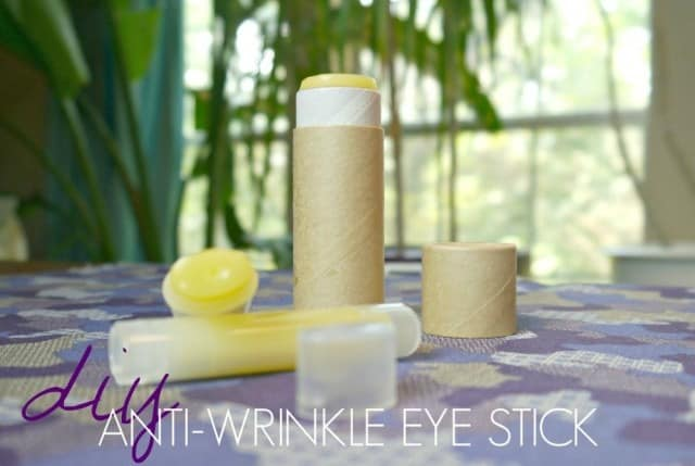 DIY Anti-Wrinkle Eye Stick from Jenni Raincloud