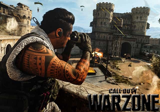 Call of Duty Warzone Spotgame