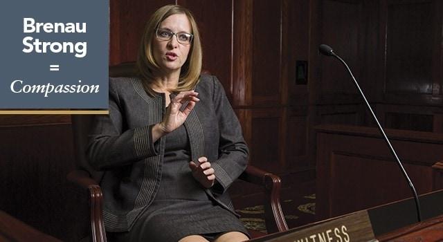 Dr. Julie Battle, chair of Brenau Department of Psychology