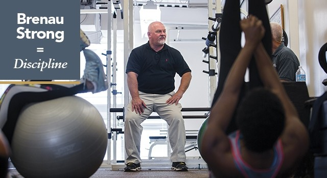 Fitness Center Director and Softball Coach Gary Hatfield