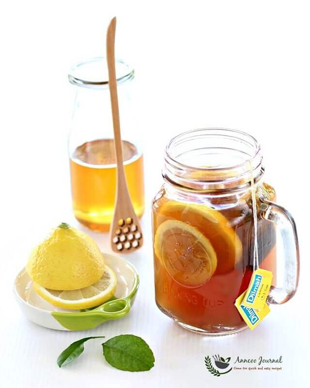 honey lemon ginger tea