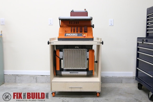 Flip top tool stand - tool organization ideas