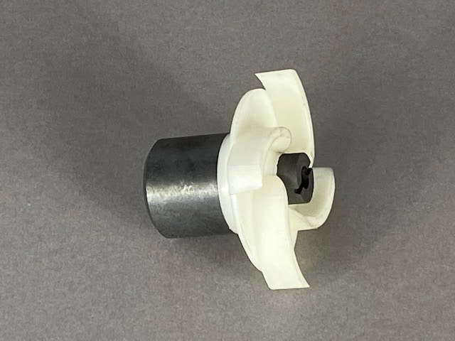 Impeller with Carbon Bushing