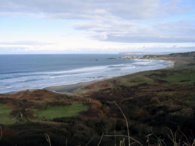 The wild beaches of Co. Antrim, Ireland