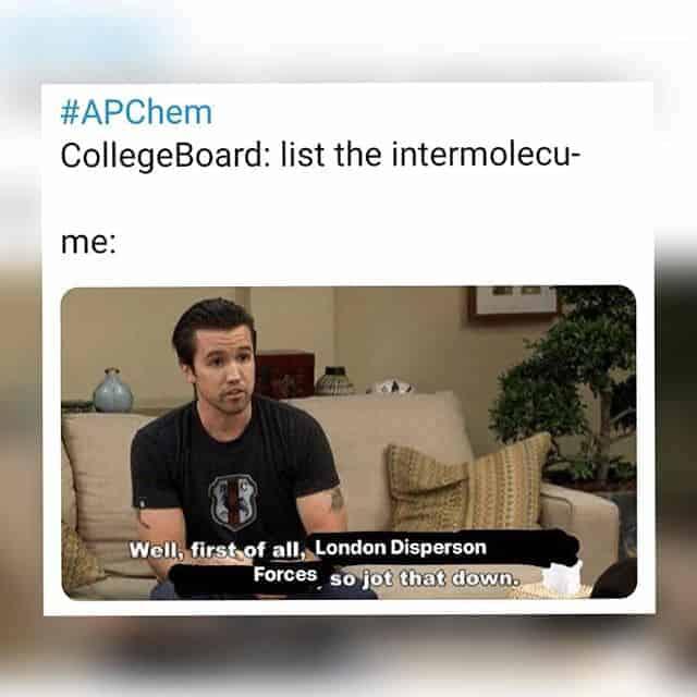 Viral ap chem 2019 memes