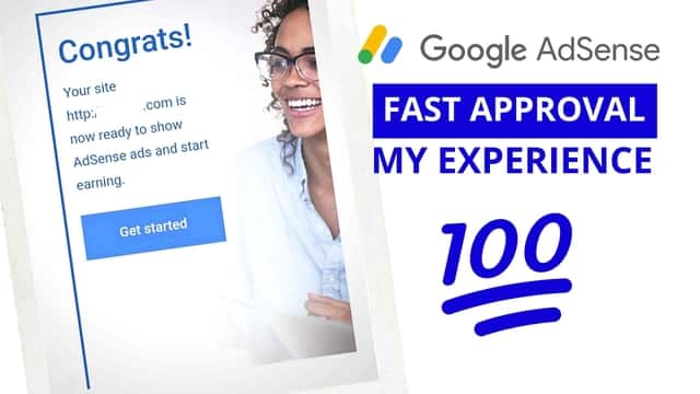 how to get google adsense aproval fast
