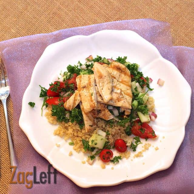 Chicken and Quinoa Salad from Zagleft b