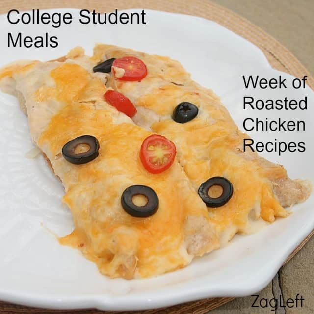 Easy and Delicious Chicken Enchiladas Recipe - College Student Meals from ZagLeft