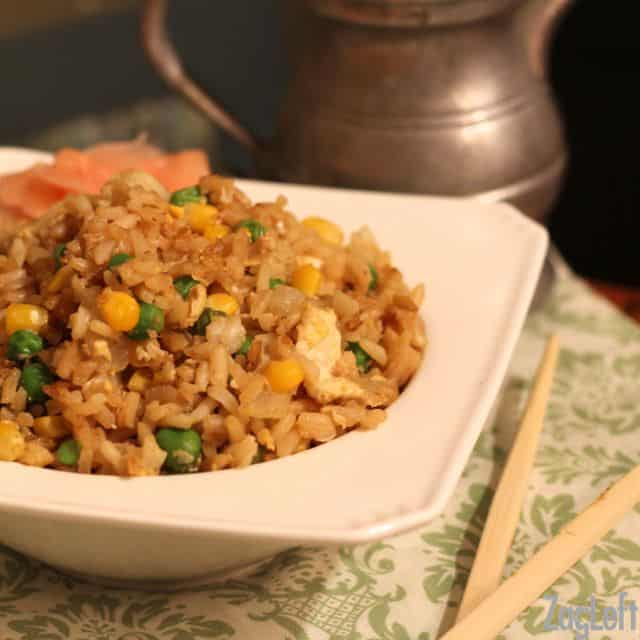 College Student Meals - Fried Rice - ZagLeft
