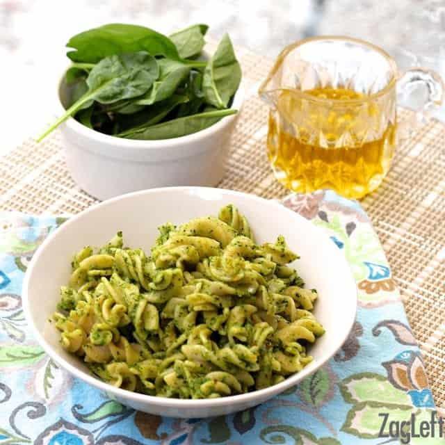 Spinach Pesto | www.zagleft.com