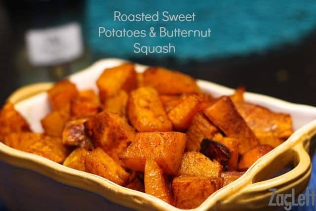 Roasted Sweet Potatoes and Butternut Squash Recipe from ZagLeft