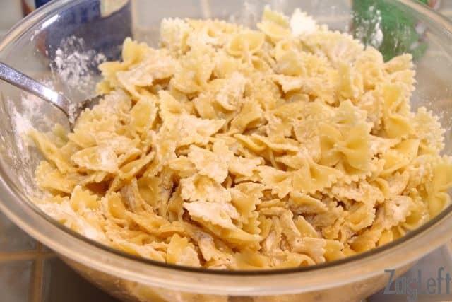 Fried Pasta   ZagLeft