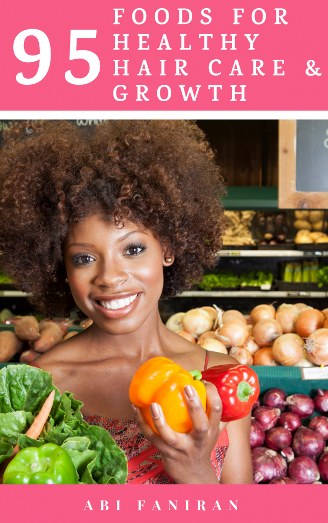 95 foods for healthy hair care and growth