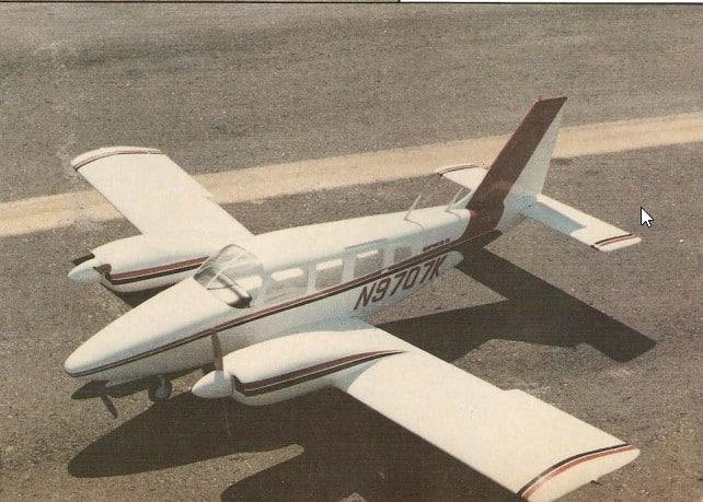 Piper Senega II Emb 810