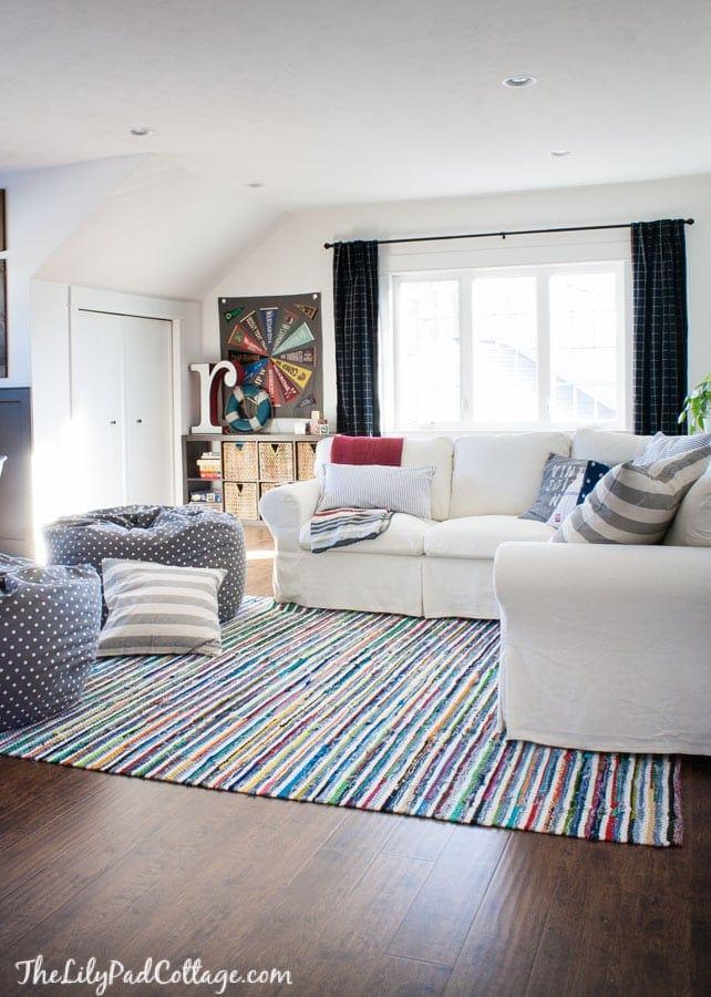 Colorful Playroom Decor