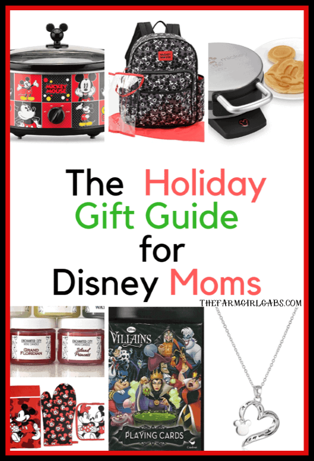 Need a special gift for mom who just happens to be the world's biggest Disney Fan? Here are some Gift Ideas For Disney Moms. #DisneyGifts #GiftIdeas #WaltDisneyWorld #DisneyFans #ChristmasGift