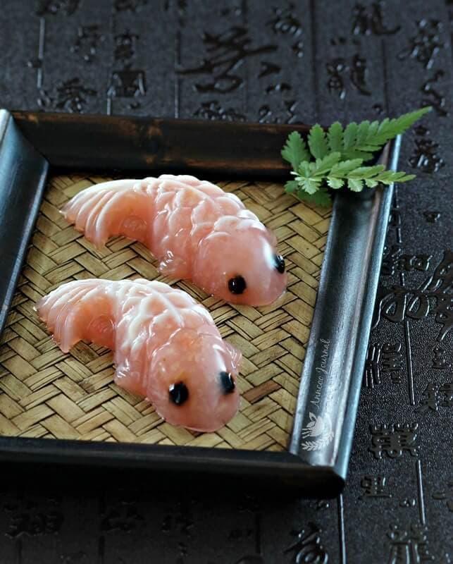 lychee koi fish jelly 068
