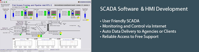 SCADA Software & HMI Development