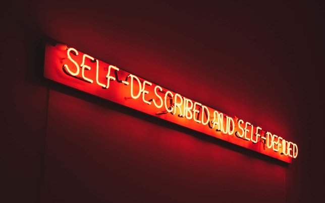 self described and self defined sign