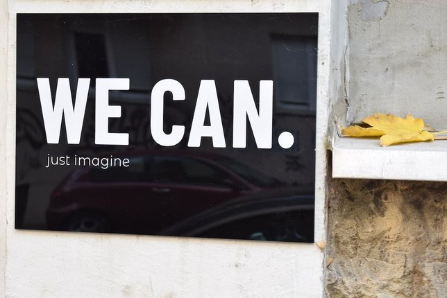 we can. just imagine. sign