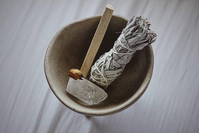 full moon ritual cleansing tools