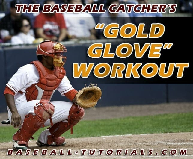 baseball catchers practice gold glove