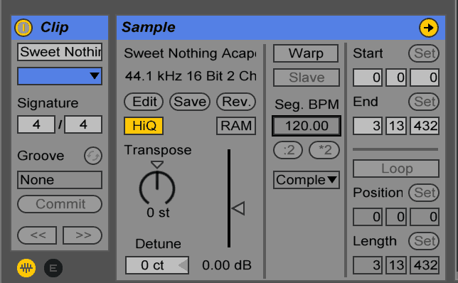 Warping In Ableton Live