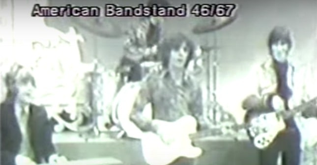 Pink Floyd Performs on US Television for the First Time: American Bandstand, 1967 - @Open Culture #pinkfloyd Artes & contextos pink floyd performs on us