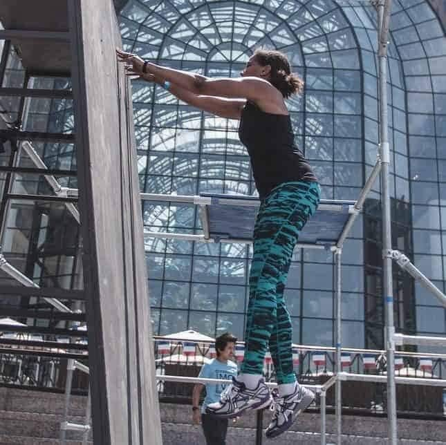 Parkour on the Plaza