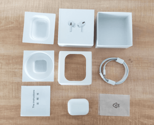 apple airpods pro box fake