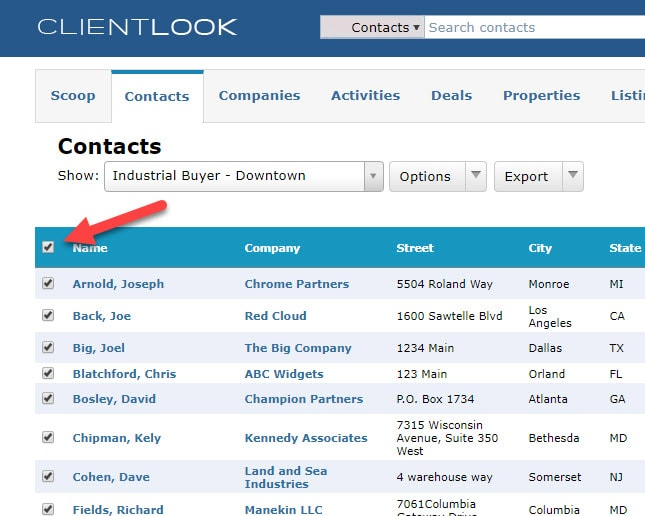 Multiple Contacts To A Deal In ClientLook_4