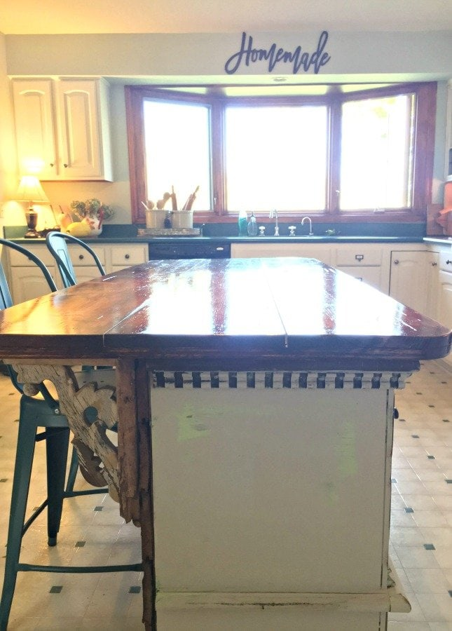 How I got my very own ISLAND and you can too-gullycreekcottage-seating