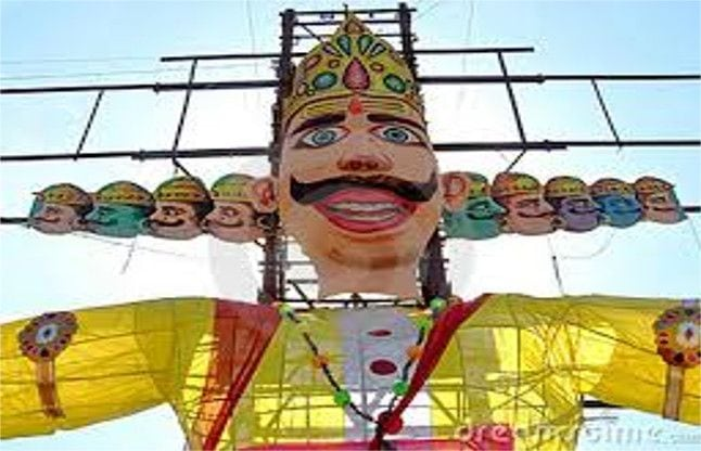 Dussehra festival will be celebrated in Sheopur, Baroda today, tomorrow in Karahal town