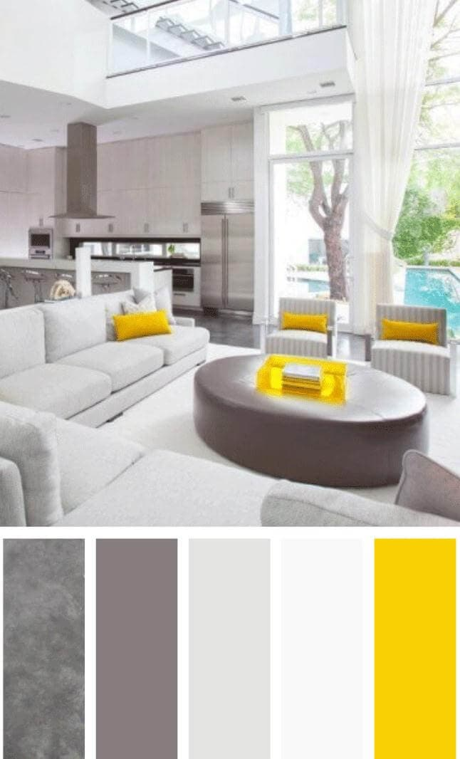living room color schemes cream couch