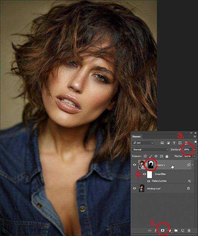 Photoshop dunkle Bereiche aufhellen, Filter Tiefen Lichter, photoshop überbelichtung korrigieren, photoshop tiefen und lichter, photoshop tutorials, 06 - Kopie