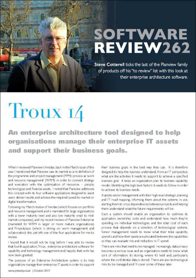 Troux 14 Review