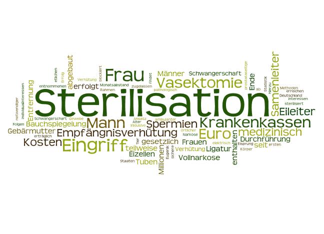 Verhütungsmethode Sterilisation Frau