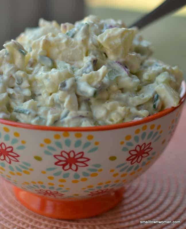 This creamy dill potato salad is a classic recipe that's perfect for family parties and summer BBQs