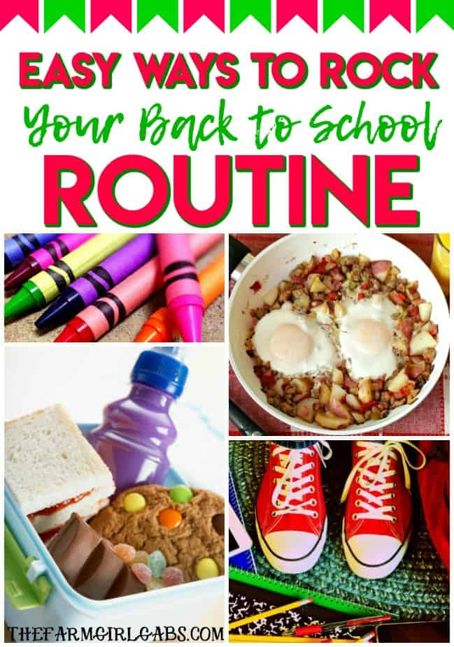 Ready for a smooth back to school transition? Here are easy Ways to Rock Your Back To School Routine. #ButchersBreakfast #OmahaSteaks #BackToSchool #Ad #Parenting #School #hacks #parents #mom #bestyearever