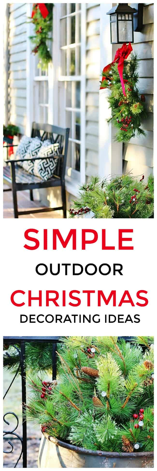 Outdoor Christmas Decorating Ideas Thistlewood Farm