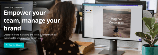 Canva for companies